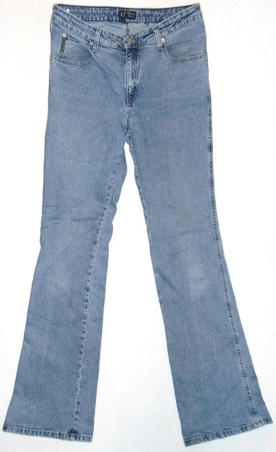 AJ Armani Indigo Series 4  W31 L34  Ladies Blau Denim Jeans - Made in