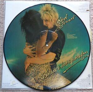 Rod-Stewart-Blondes-Have-More-Fun-original-1978-vinyl-LP-picture-disc