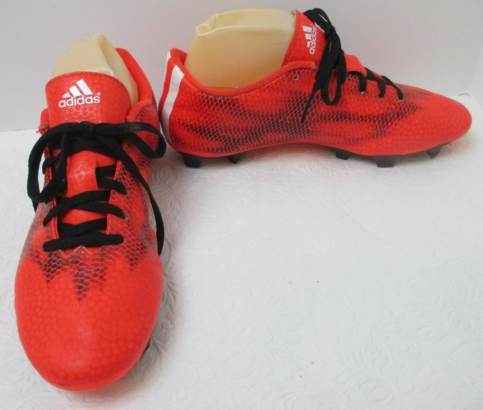 Men's Adidas F5 FG Solar Red/Ghost Black Soccer Cleats B34862 Sz 8 M best-selling model of the brand