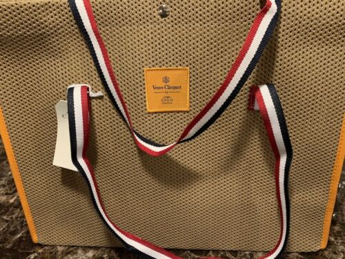 VEUVE CLICQUOT BY CALA 1789 VCP NWT Large Beach Tote Bag IMPOSSIBLE TO FIND