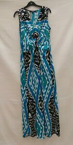 Star-by-Julien-Macdonald-sleeveless-stretch-long-maxi-dress-Size-14