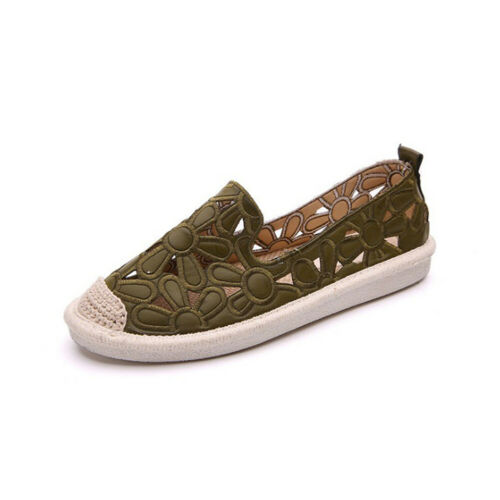 Flats For Women Comrfort Hollow Flat Shoes Woman Loafers Shoes Female Moccasins