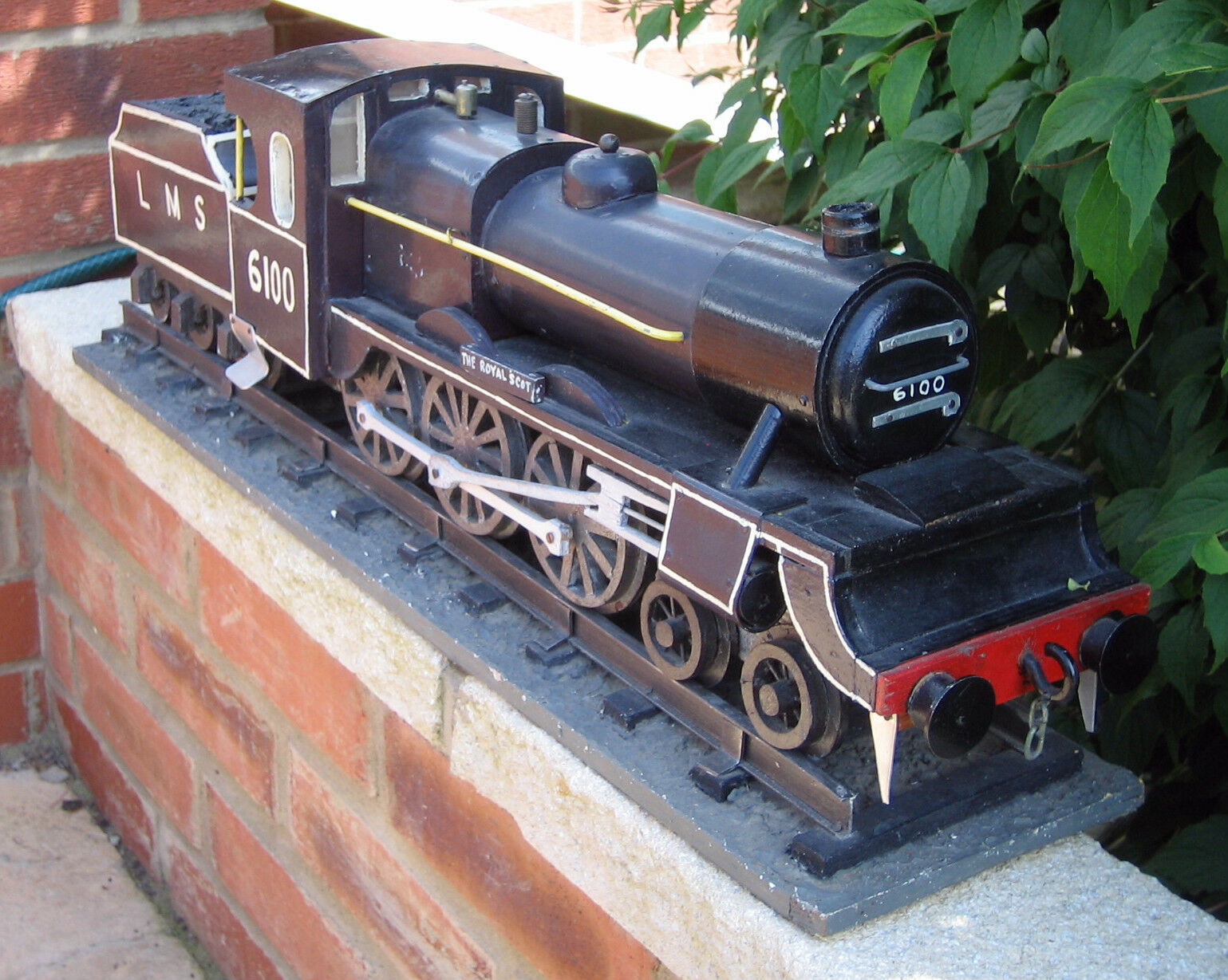 RARE V LARGE HAND MADE LOCOMOTIVE THE ROYAL SCOTT L M S 6100- BUTLINS SKEGNESS