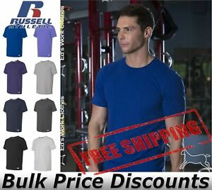 Russell-Athletic-Essential-60-40-Performance-Tee-Shirt-Blank-64STTM-up-to-4XL