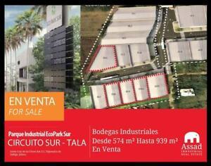 BODEGAS INDUSTRIALES EN VENTA - CIRCUITO METROPOLITANO SUR TALA / TLAJOMULCO - PARQUE INDUSTRIAL ...