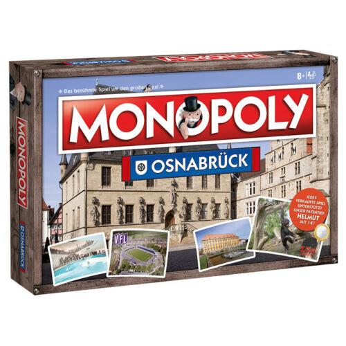 Monopoly Osnabrück City Stadt Edition 2018 Spiel Gesellschaftsspiel Brettspiel