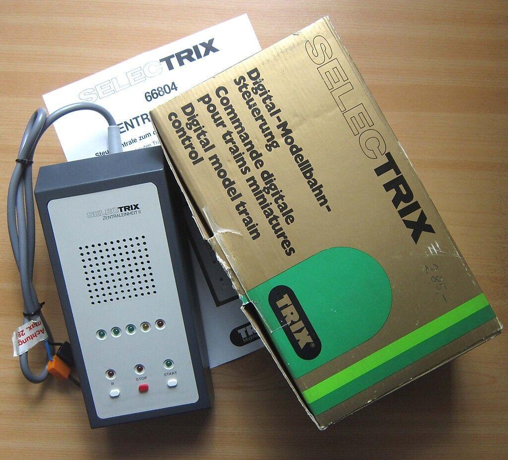 Trix Selectrix 66804 centraleunità 2 imposta digitale modellolololo centrale Ferrovie in scatola originale
