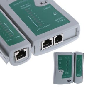 Networking Brand New Professional Rj45 Cable Lan Tester Network Cable Tester Rj45 Rj11 Rj12 Cat5 Cat6 Utp Lan Cable Tester Networking Tool