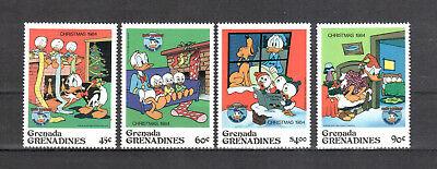 Übersee:5531 LiebenswüRdig Grenada-grenadinen Michelnummer 641-645 Ohne 644 Postfrisch Weihnachten & Feiertage Briefmarken