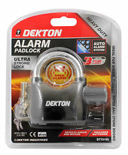 Motorbike Cycle Alarm Lock Motion Sensor Security Bike Siren Padlock 110d 3 Keys