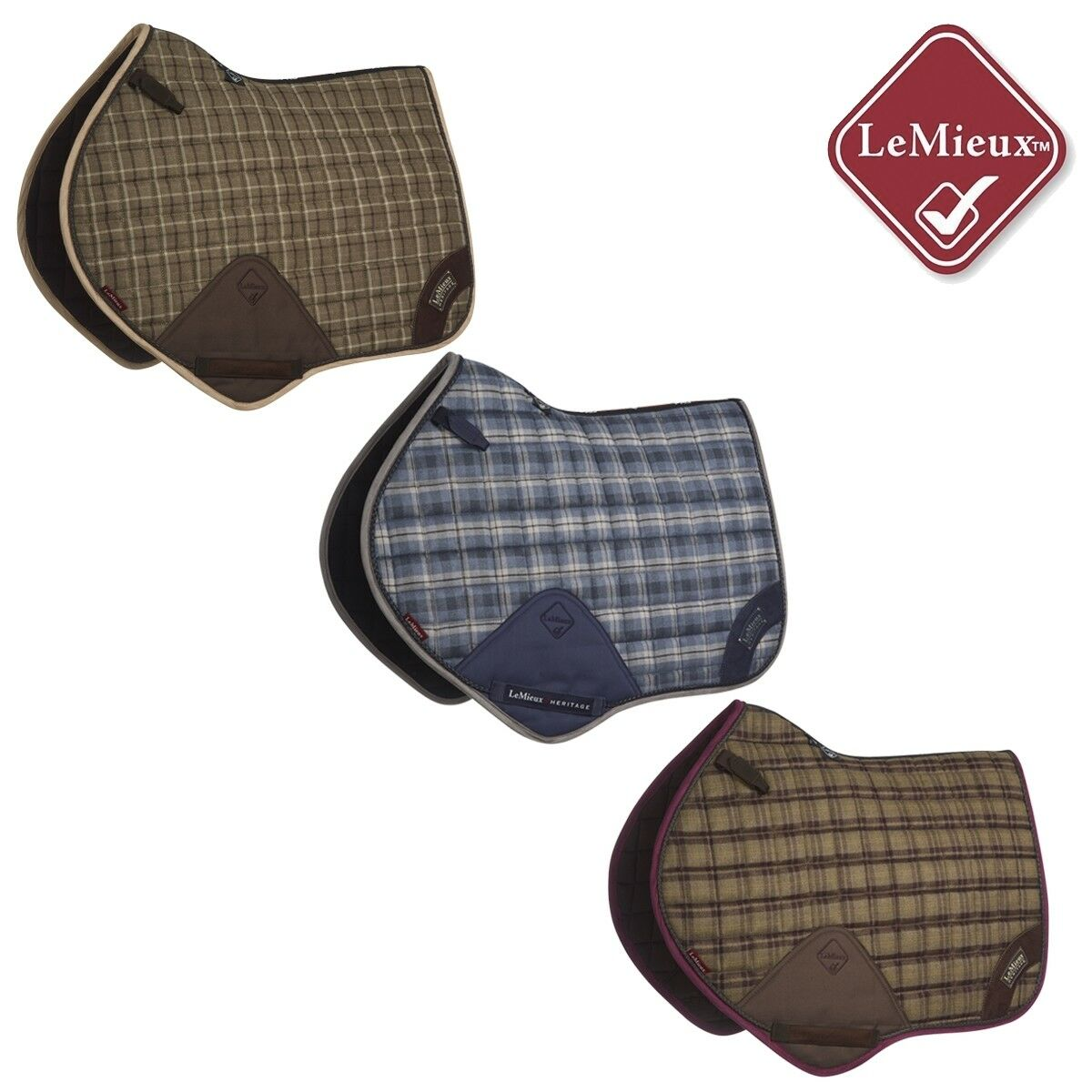 LeMieux Heritage Close Contact Square - Free UK Shipping   save up to 30-50% off