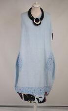 gorgeous SARAH SANTOS LAGENLOOK PARACHUTE DRESS  100% LINEN LONG  XL/XXL