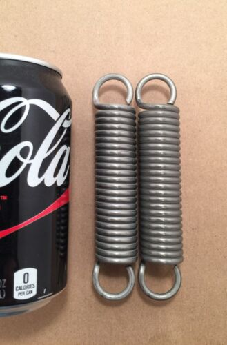""".148"""" Stainless Steel Wire Extension Spring Lot Of 2"""