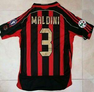 MAGLIA-MILAN-SERIE-A-CHAMPIONS-2006-2007-MALDINI-3-RETRO-VINTAGE-JERSEY-PATCH