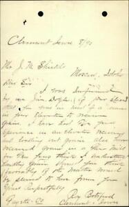 1890 Moscow Idaho (ID) Letter J. M. Shields Jim Doyle Roy Botsford