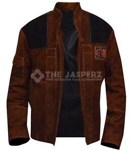 Mans-Solo-A-Star-Wars-Story-Jacket-Alden-Ehrenreich-Brown-Suede-Leather-Jacket