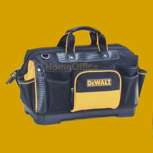 """Sac à Outils Sac DeWALT Rigid 18/"""" main et outils électriques comprend Bandoulière"""