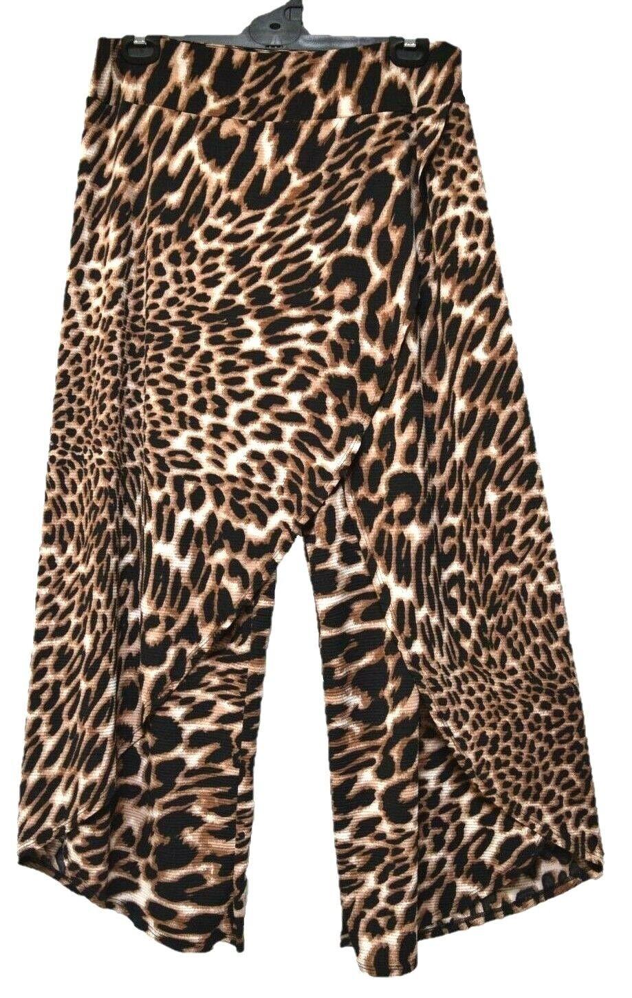 TS pants TAKING SHAPE plus sz S - M   18 Dina Pant wide 7 8 wrap leg floaty NWT