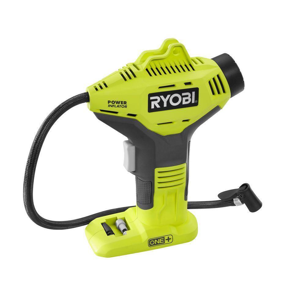 Ryobi 18 Volt One Portable Air Compressor Cordless Tire