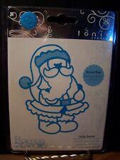 Tonic Studios 1375E  Rococo Christmas Die Jolly Santa Christmas Santa Claus