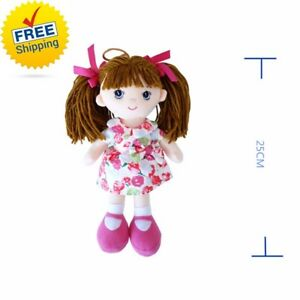 2017-Kids-Toys-Soft-Fashion-Girls-Mini-Dolls-Plush-25CM-Girls-Toys-Gift