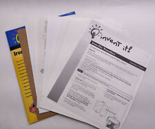 Mixed Lot Of Iron On Light Fabric Transfer Paper 20 Sheets 85 X 11