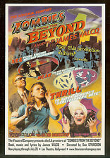 ZOMBIES FROM THE BEYOND - JAMES VALCQ & VISCERAL -LA PREMIER - RACK & LOBBY CARD