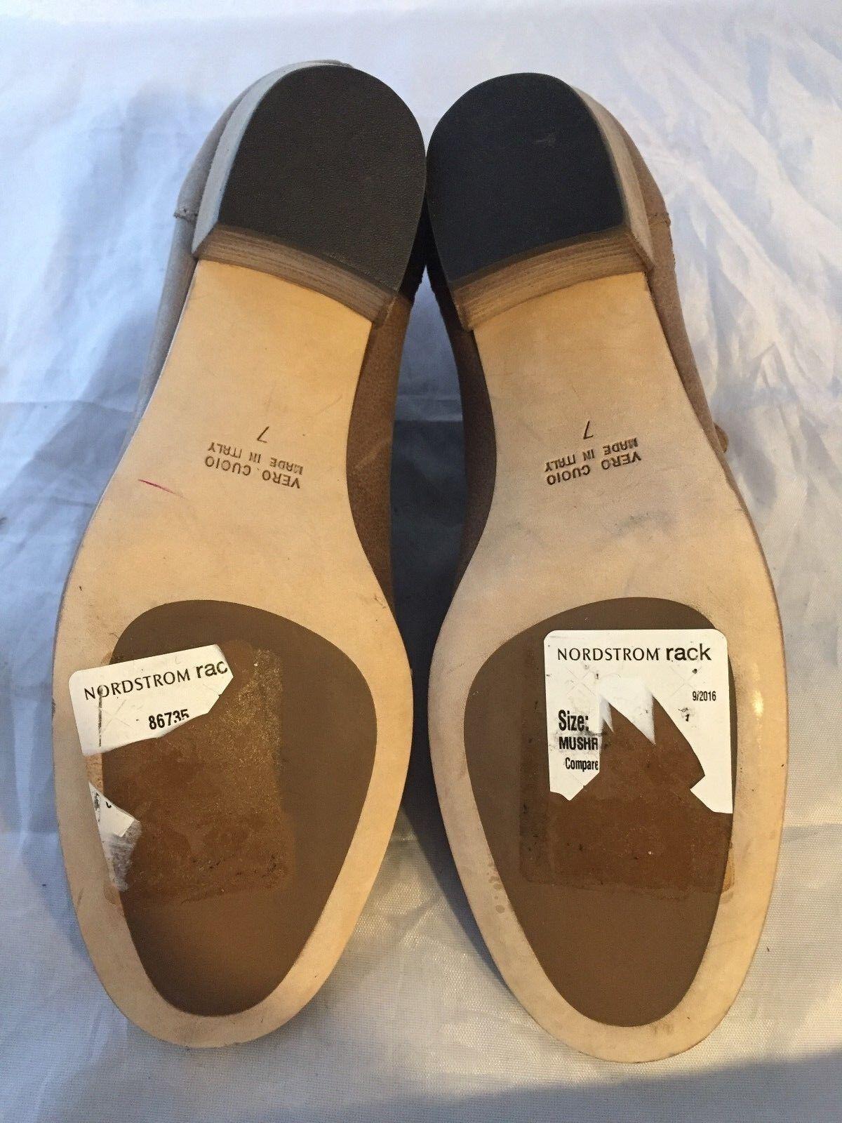 Nuevo Aquatalia botas Beige Cuero Freida Resistente Al Agua botas Aquatalia al tobillo, talla 7, 395   46036a