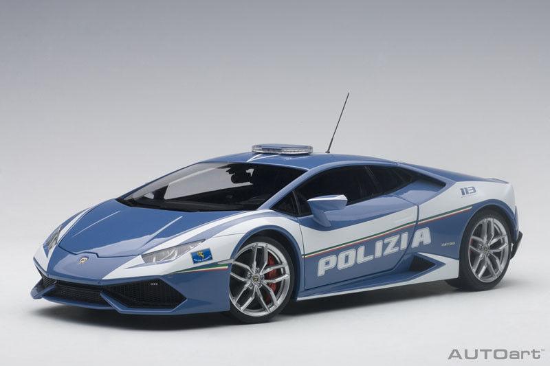 74609 AUTOart 1:18 Lamborghini Huracan LP610-4 Police Car