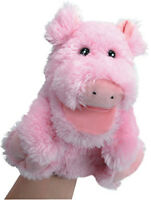 Musical Pig Puppet That Snorts 3 Songs While You Move Its Mouth