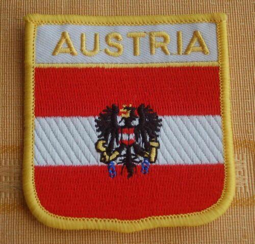 Österreich Adler Aufnäher Aufbügler Wappen Patch Fahne