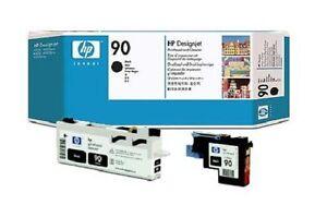 Original-Hp-Cabezal-de-Impresion-Designjet-4000-4020-4500-N-90-C5054A-Negro