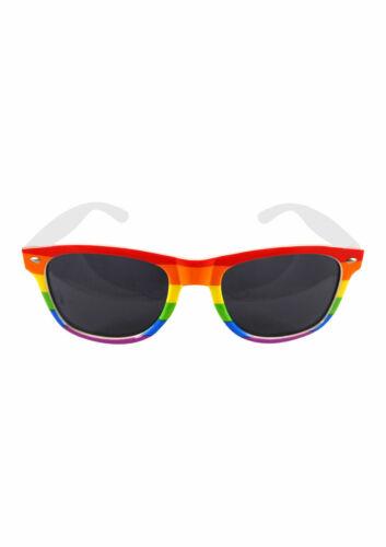New Gay Pride Rainbow LGBT Festival Headband Wristband Rainbow Glasses Party Set