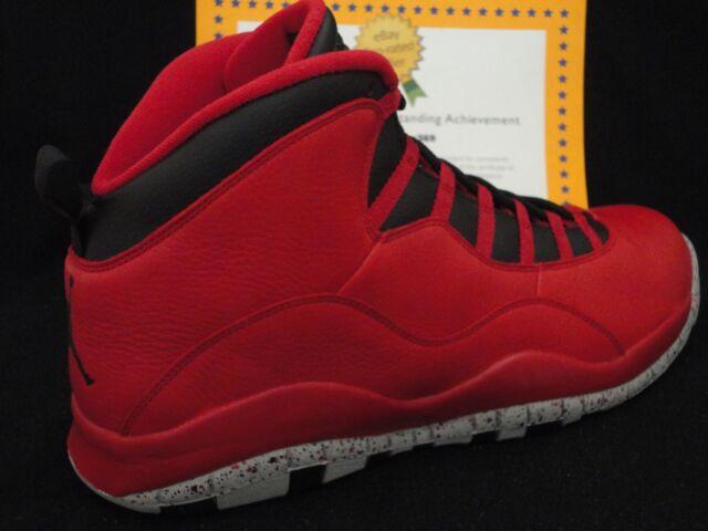 d2fcd654c565 Nike Air Jordan 10 Retro 30th Size 17 Bulls Over Broadway 705178-601 ...