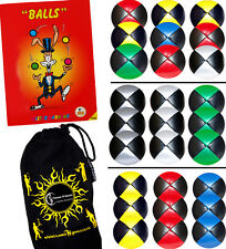 Thud Juggling Balls + FREE Ball Juggling Book of Tricks