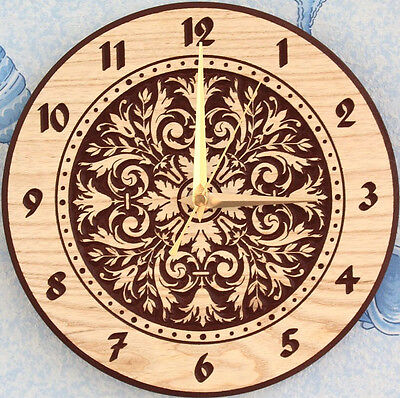 New Wall Clock Daraht_3 3d or engrave STL file - Model for CNC Router Machine