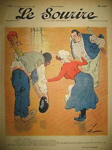 LE-SOURIRE-N-119-JOURNAL-HUMOUR-DESSINS-MIRANDE-CADEL-HUARD-BAC-1902