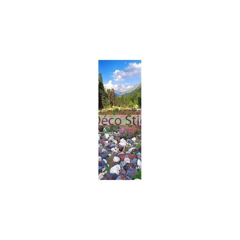 Aufkleber für Tür Landschaft Kiesel 93x204cm Ref 112 Beff098da41b