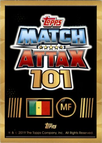 No 151 World Stars Topps Match Attax 101-Sadio Mane Sénégal
