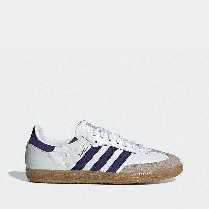 Adidas Originals Samba OG Herren Turnschuhe Schuhe Weiß