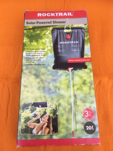 Solar Powered Shower by Rocktrail