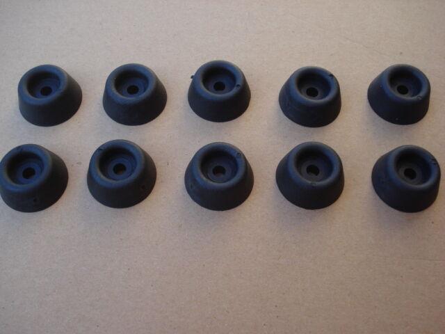Lot de 4 patins à visser diam 29 mm idéal pour meubles bois butée de porte