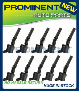 10x-High-Energy-Ignition-Coils-For-Lincoln-Ford-F150-F250-F550-4-6-5-4L-DG508-V8