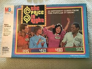 THE PRICE IS RIGHT Board Game Complete Vintage Milton Bradley 4616