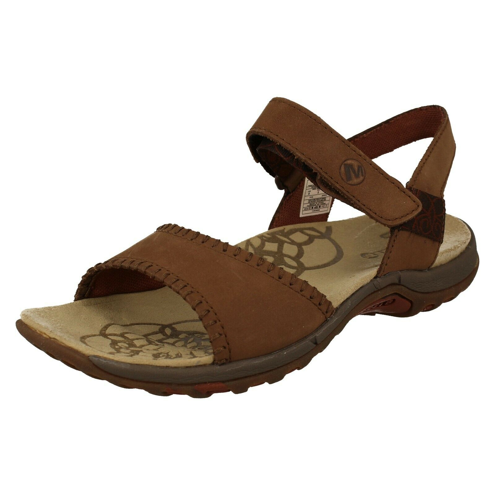 LADIES MERRELL  HIBISCUS J57572 CASUALE SUMMER LEADER WANG OUTHERPORTA SANDALS  Sconto del 70%