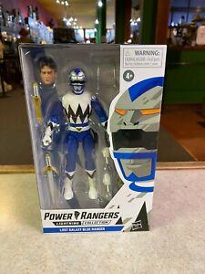 "Hasbro Power Rangers Lightning Collection LOST GALAXY BLUE RANGER 6"" Figure NIP"