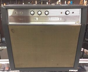 Epiphone-Constellation-V-Vintage-Bass-Guitar-Tube-Amplifier-Excellent-Condition