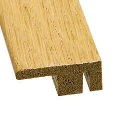Solid Oak Wood Floor Square Edge End Threshold 2 7m
