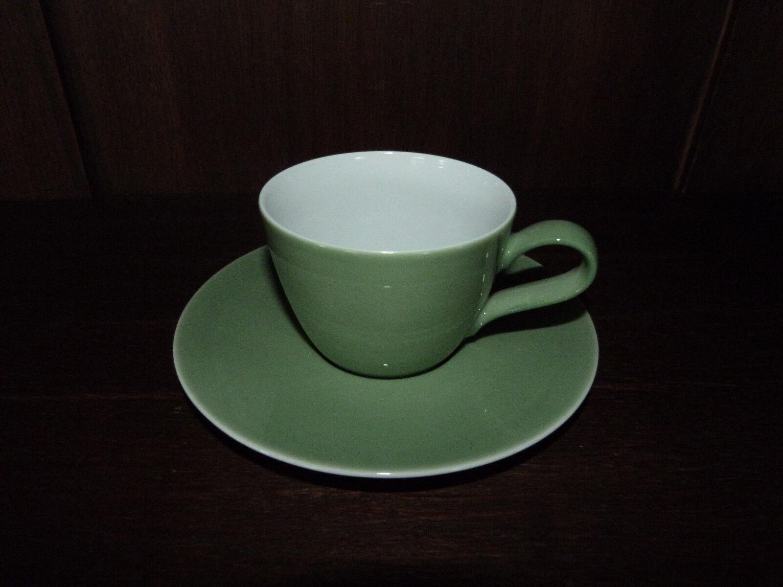 6 Kaffeetassen 2 tlg. Life grün Sonderdekor von Seltmann Weiden Weiden Weiden | Fairer Preis  9fb098