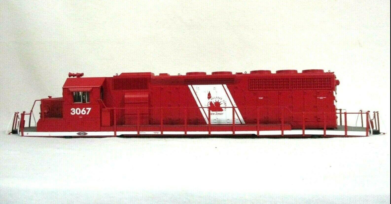 Lionel 6-28224 Jersey Central 3067 TMCC SD40-2 Diesel Locomotive Shell Railway